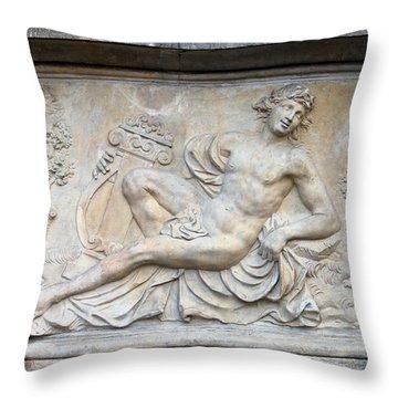 Apollo Relief In Gdansk Throw Pillow