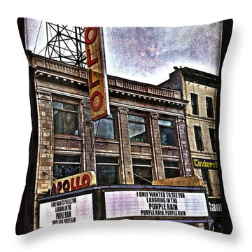 Apollo Theatre, Harlem Throw Pillow