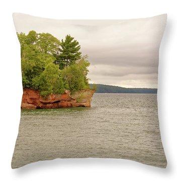 Apostle Islands Throw Pillow