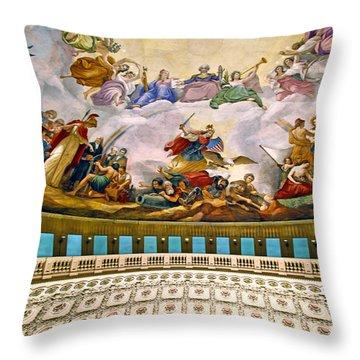Apotheosis Of Washington Throw Pillow