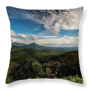 Appalachian Foothills Throw Pillow