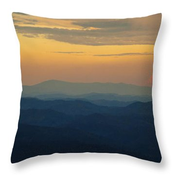 Appalachian Sky Throw Pillow