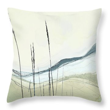 Throw Pillow featuring the digital art Appalachian Spring by Gina Harrison