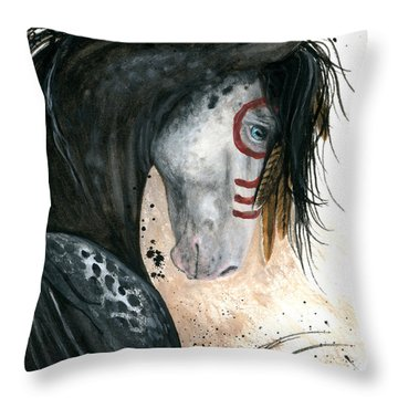 Appalossa Horse Throw Pillow