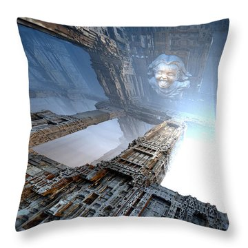 Apparition Throw Pillow by Hal Tenny