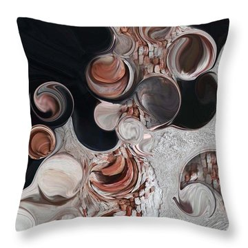 Apparition Of Degenerated Vision Throw Pillow