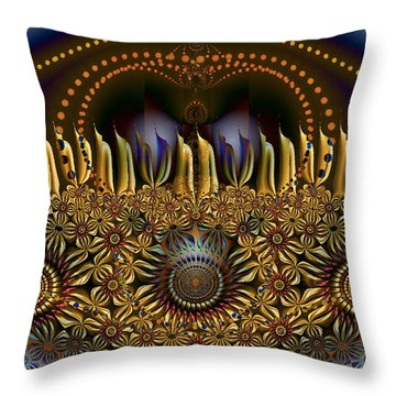 Appearing To Care Throw Pillow
