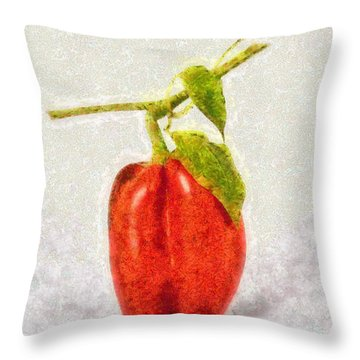 Appetite - Id 16235-220258-3307 Throw Pillow