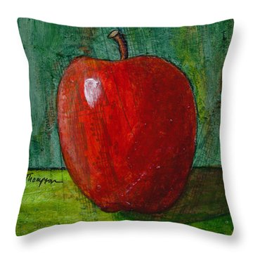 Apple #4 Throw Pillow