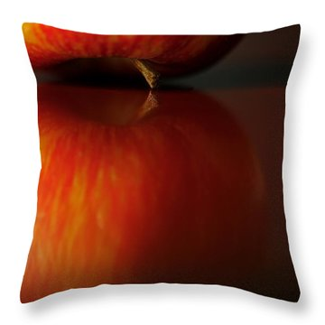 Apple Reflection Throw Pillow