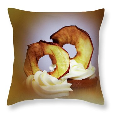 Apple View Throw Pillow by Afrodita Ellerman