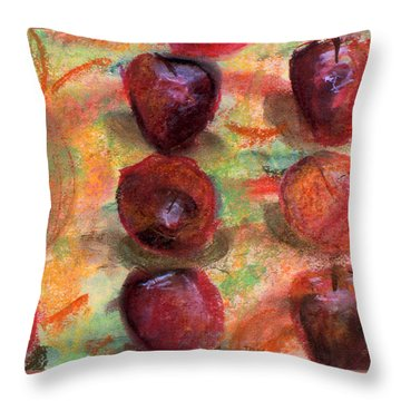 Apples R Us Throw Pillow