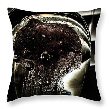 Throw Pillow featuring the photograph Approach by Eric Christopher Jackson