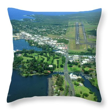 Approach Into Ito Throw Pillow