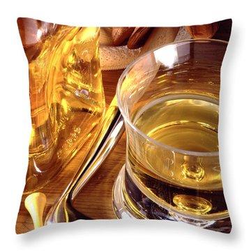 Apres Golf Throw Pillow