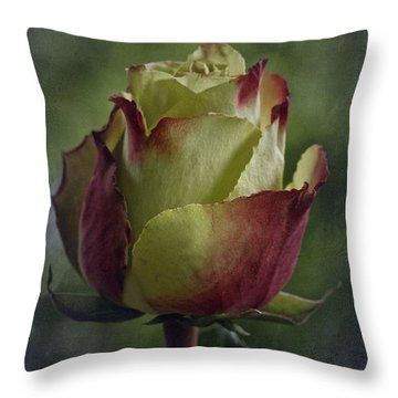 April 2017 Rose - Inspired By Emerson Throw Pillow by Richard Cummings