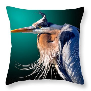 April Breeze Throw Pillow
