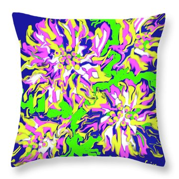 April Ends In Mayhem Throw Pillow
