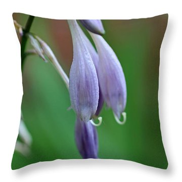 April Ends Throw Pillow by Michiale Schneider