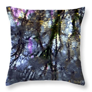 April Showers 2 Throw Pillow