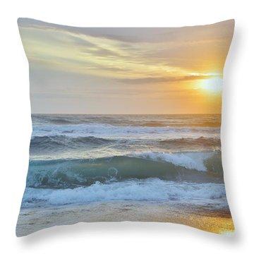 April Sunrise  Throw Pillow