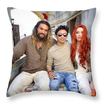 Aquaman Throw Pillow