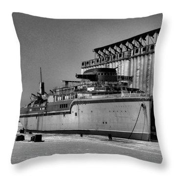 Aquarama Throw Pillow by Ely Arsha