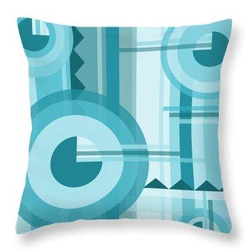 Aquarama Throw Pillow by Tara Hutton