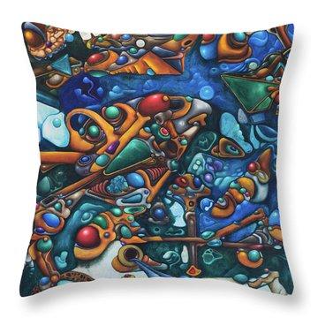 Aquariumalgam Throw Pillow