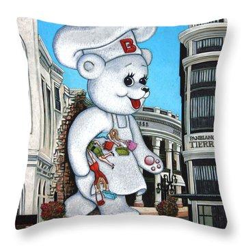 Aqui Hay Bimbo Throw Pillow by Holly Wood