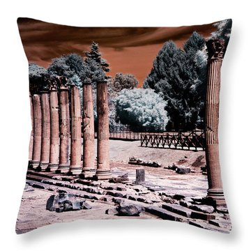 Aquileia, Roman Forum Throw Pillow