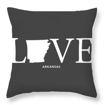 Ar Love Throw Pillow by Nancy Ingersoll