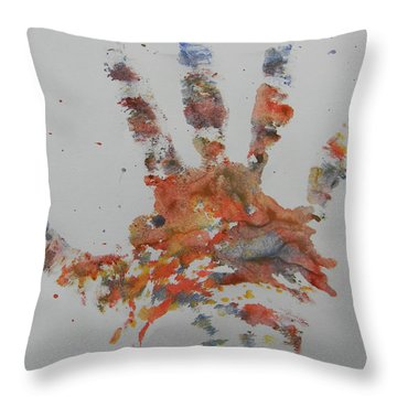 Arab Spring One Throw Pillow