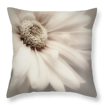 Throw Pillow featuring the photograph Arabesque In Champagne by Darlene Kwiatkowski