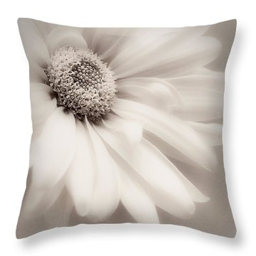 Throw Pillow featuring the photograph Arabesque In Soft Charcoal by Darlene Kwiatkowski