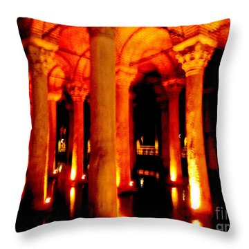 Arabic Nocturn A Throw Pillow