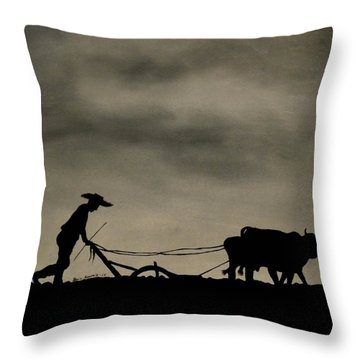 Arado Throw Pillow