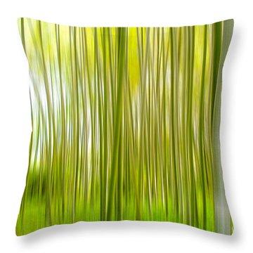 Arashiyama Throw Pillow