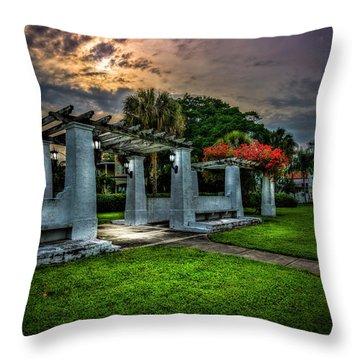 Arbor Sunset Throw Pillow