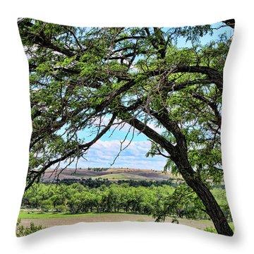 Arbor Vista Throw Pillow