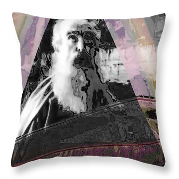 Throw Pillows Uncovered : Arc Ark Of Noah A Graphic Creation To Symbolise What Still Remains Uncovered. Mixed Media by ...