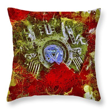Iron Man 2 Throw Pillow