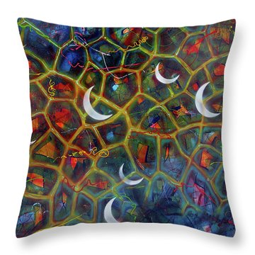 Arch 15 Crescents Part1 Throw Pillow