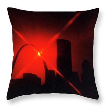 Throw Pillow featuring the photograph Arch Study 1 by Christopher McKenzie