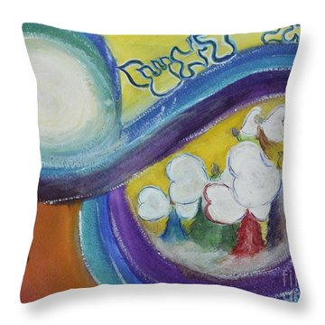 Archangels Throw Pillow