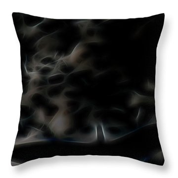 Archangel's Shadow Throw Pillow by William Horden