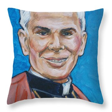 Archbishop Fulton J. Sheen Throw Pillow
