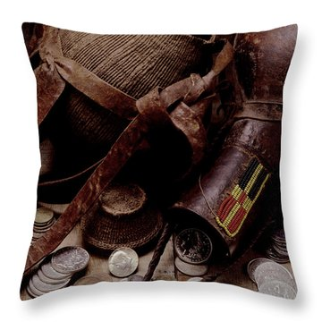 Archeological Find Year 3009 Throw Pillow