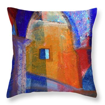 Arches And Window Throw Pillow