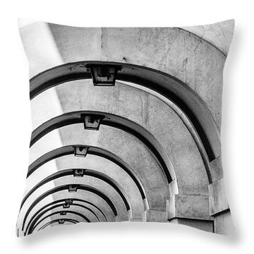 Arches At The Arno Throw Pillow